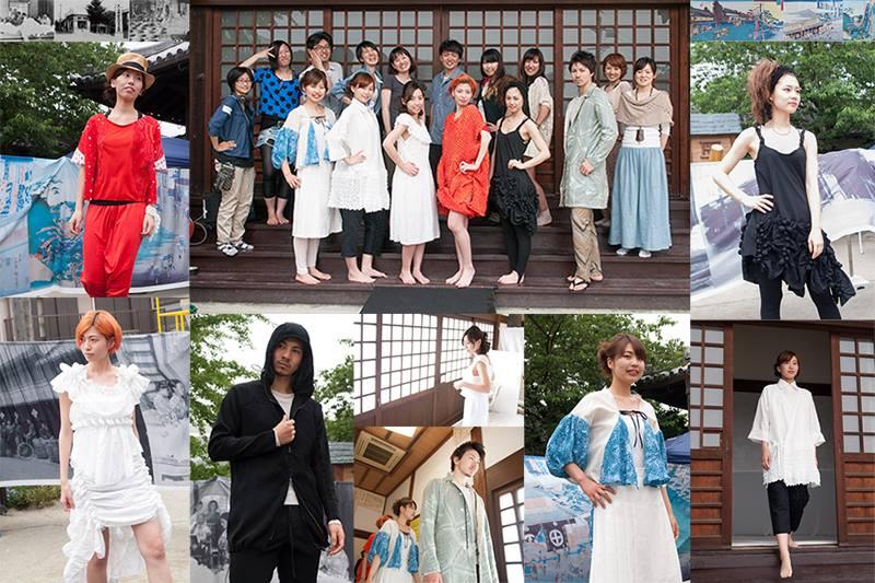 絞り祭りファッションショー